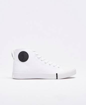 Religion Sneakers Skeleton Highrise Sneaker Vit