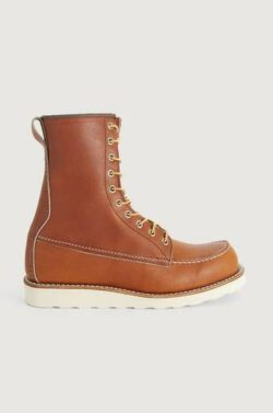 Red Wing Shoes Boots 8-inch Moc Toe Brun